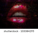 nightlife fashion vector... | Shutterstock .eps vector #103384295