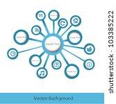 blue modern creative modern... | Shutterstock .eps vector #103385222