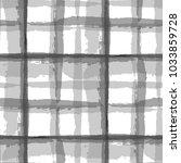 plaid. seamless grunge pattern... | Shutterstock .eps vector #1033859728