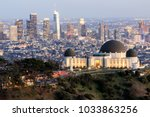griffith observatory park with...   Shutterstock . vector #1033863256