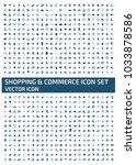 shopping icon design | Shutterstock .eps vector #1033878586