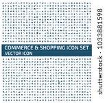 commerce icon design | Shutterstock .eps vector #1033881598