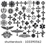 big collection of various types ... | Shutterstock .eps vector #103390562