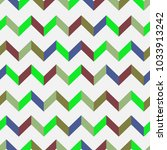 seamless chevron vector pattern.... | Shutterstock .eps vector #1033913242