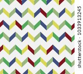 seamless chevron vector pattern.... | Shutterstock .eps vector #1033913245