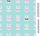 seamless vector pattern with... | Shutterstock .eps vector #1033923325