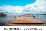 beautiful view of the lake... | Shutterstock . vector #1033948702
