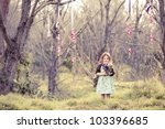 Little Girl In The Woods