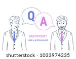 consulting business advise.... | Shutterstock .eps vector #1033974235