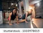 shot of a young fit couple... | Shutterstock . vector #1033978015
