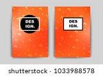 light orange vector background... | Shutterstock .eps vector #1033988578