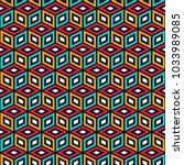 seamless abstract vector... | Shutterstock .eps vector #1033989085