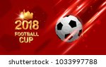 football 2018 world... | Shutterstock .eps vector #1033997788
