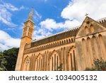 christ church. stone town ...   Shutterstock . vector #1034005132