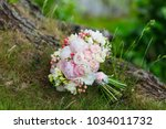 a delicate and very beautiful... | Shutterstock . vector #1034011732