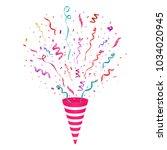 festive vector illustration.... | Shutterstock .eps vector #1034020945