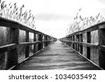 A Wooden Pier In Long Island ...