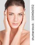 beauty. no retouching | Shutterstock . vector #103406552
