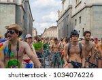 turin  italy   11 june 2011 ... | Shutterstock . vector #1034076226