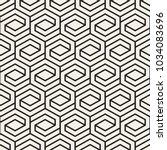 vector seamless lattice pattern.... | Shutterstock .eps vector #1034083696