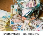 Hong Kong Dollar Banknote On...