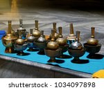 soft focus of buddhist... | Shutterstock . vector #1034097898