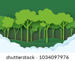 eco green nature forest... | Shutterstock .eps vector #1034097976