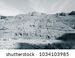 lunar landscape of beautiful... | Shutterstock . vector #1034103985