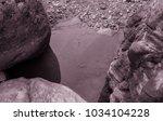 lunar landscape of the lost... | Shutterstock . vector #1034104228