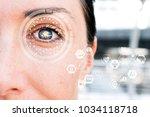 artificial intelligence   deep... | Shutterstock . vector #1034118718