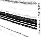 grunge halftone black and white ... | Shutterstock . vector #1034138176