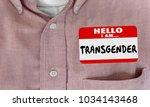 transgender sexual identity... | Shutterstock . vector #1034143468