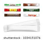 universal mockups of blank... | Shutterstock .eps vector #1034151076