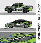 wrap racing graphics background ... | Shutterstock .eps vector #1034152345