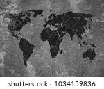 old map background | Shutterstock . vector #1034159836