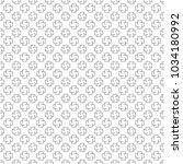seamless pattern of crosses.... | Shutterstock .eps vector #1034180992
