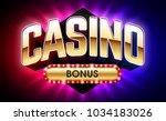 casino welcome bonus banner ...   Shutterstock .eps vector #1034183026