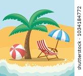 hello summer design | Shutterstock .eps vector #1034184772