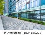 modern office building outdoors ... | Shutterstock . vector #1034186278