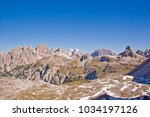 view from the patern saddle to... | Shutterstock . vector #1034197126