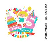 congratulations on your... | Shutterstock .eps vector #1034221555
