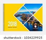 business brochure cover design... | Shutterstock .eps vector #1034229925