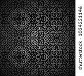 vintage ornamental black...   Shutterstock .eps vector #1034231146