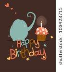 Cute Happy Birthday Card....