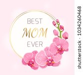 Mothers Day Floral Spring Card...