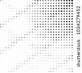 grunge halftone black and white ... | Shutterstock .eps vector #1034279452