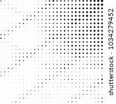 grunge halftone black and white ... | Shutterstock .eps vector #1034279452