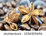 aroma of coffee and flavorings | Shutterstock . vector #1034305696