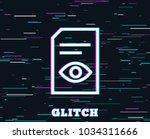 glitch effect. view document...