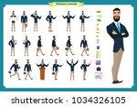 people character business set...   Shutterstock .eps vector #1034326105